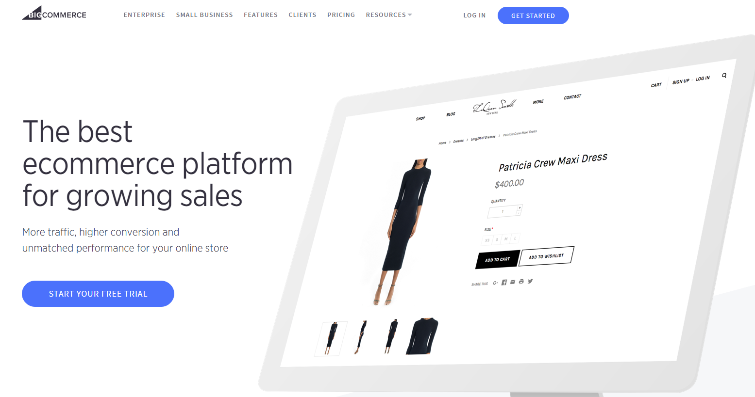 bigcommerce e-commerce platform