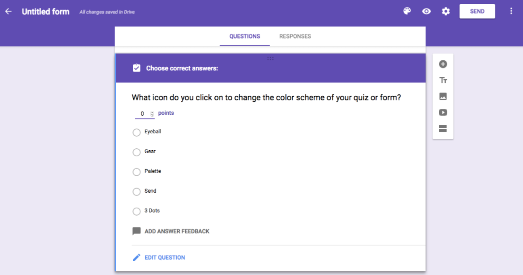 google-forms for customers' information search